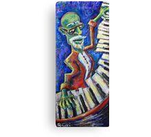 The Acid Jazz Jam - Piano Canvas Print