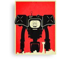 Fallout Canvas Print