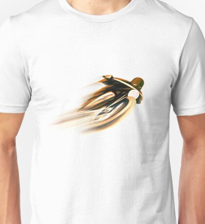 VINTAGE MOTORCYCLE ADVERTISING ART. Unisex T-Shirt