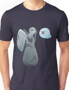 Boo! and Weeping Angel... Unisex T-Shirt