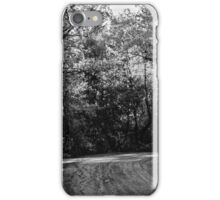 An autumn landscape - BW iPhone Case/Skin