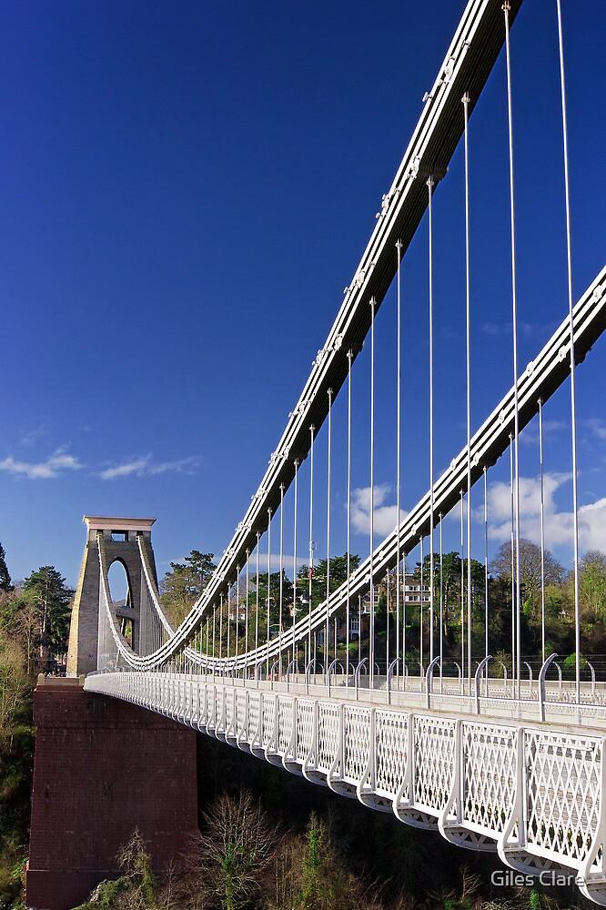 Clifton Suspension Bridge, Bristol by Giles Clare