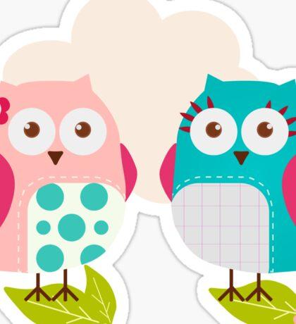 Everybody Loves Owls Sticker