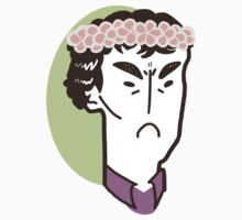 Sherlock w/ a Flower Crown by SwitchNow