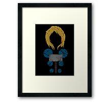 Norse God Framed Print