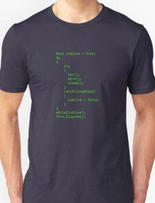 Life - Written in C# T-Shirt
