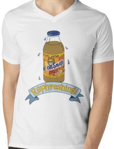Oh Snap .. ple! Mens V-Neck T-Shirt