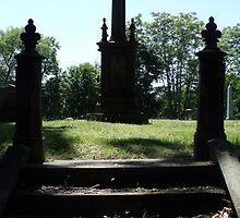 Cemetery Stairs by Stephanie Fay