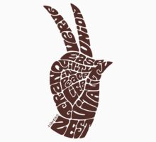 Life Force Hand in Milk Chocolate, Large Version by aygeartist