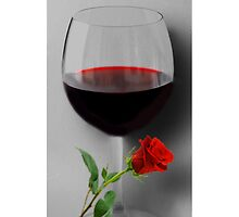 (✿◠‿◠) WINE WITH ROSE IPHONE CASE (✿◠‿◠) by ✿✿ Bonita ✿✿ ђєℓℓσ