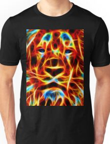 Firey Lion Face T-Shirt