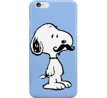 'Stache Snoopy iPhone Case/Skin