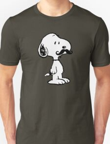'Stache Snoopy T-Shirt