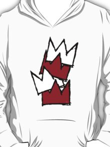 Stacked Crowns - Red T-Shirt