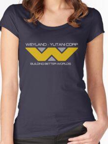 Weyland Yutani Corp Women's Fitted Scoop T-Shirt