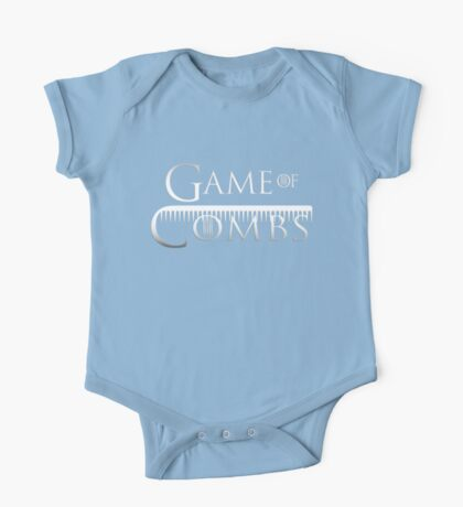 Game Of Combs One Piece - Short Sleeve