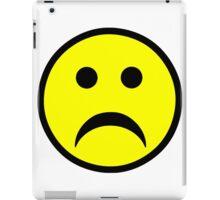 Sad Smiley Face iPad Case/Skin
