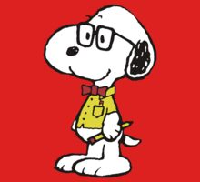 Nerd Snoopy Kids Clothes