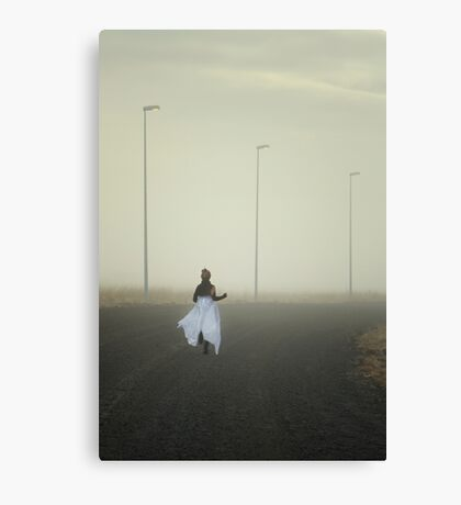 The Runnaway Bride Canvas Print