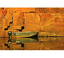 Moored at Katherine Gorge Photographic Print
