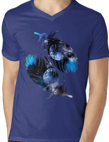 Feathers Of The Night  Mens V-Neck T-Shirt