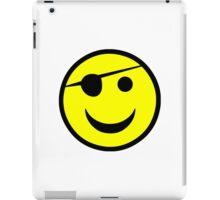 Pirate Smiley iPad Case/Skin