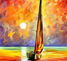 Gold Sail by DigitalLeonid