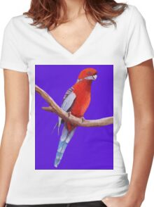 BIRD Women's Fitted V-Neck T-Shirt
