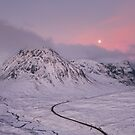 Glen Coe Moonlight by Brian Kerr