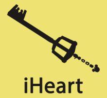 iHeart (Kingdom Hearts iPod Parody) One Piece - Short Sleeve