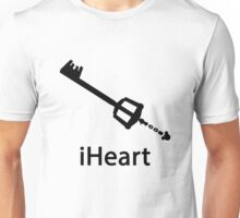 iHeart (Kingdom Hearts iPod Parody) Unisex T-Shirt