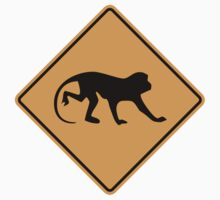 Monkey Sign by SignShop