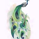 Peacock by Elise  Coates