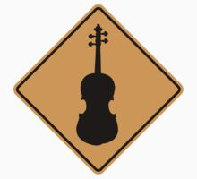 Violin Sign by SignShop