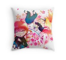 Chibi Sasori and Deidara Throw Pillow