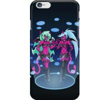 Scanty & Kneesocks iPhone Case/Skin