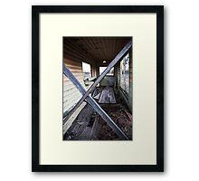 ex signal box Framed Print