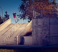Nyjah Huston - Nosegrind by asmithphotos