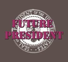 Future President (pink) Baby Tee