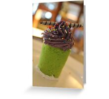 Cupcake for One Greeting Card
