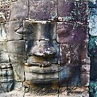 Faces Of Bayon 2 by KerryPurnell