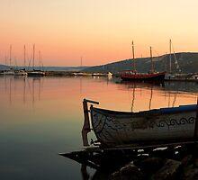 Old Fishing Harbor on Black Sea by kirilart