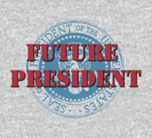 Future President (White) Kids Tee