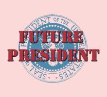 Future President (White) Kids Clothes