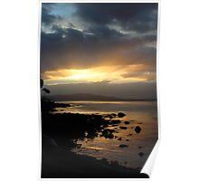 sunset  - Bruny Island   #9280 Poster