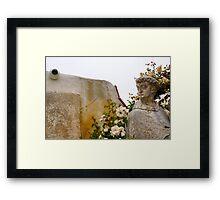 San Carlos de Carmelo Mission #21 (God Is Watching) Framed Print