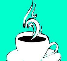 coffee curls by maydaze