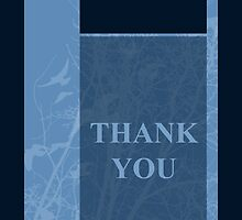 thank you cards by maydaze