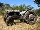 Vintage Tractor, Butterfly Valley, Turkey by Ludwig Wagner