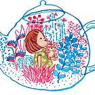 Teapot Terrarium by carla zamora